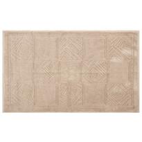 Dywanik łazienkowy Natalie jasnobrązowy, 50 x 80 cm