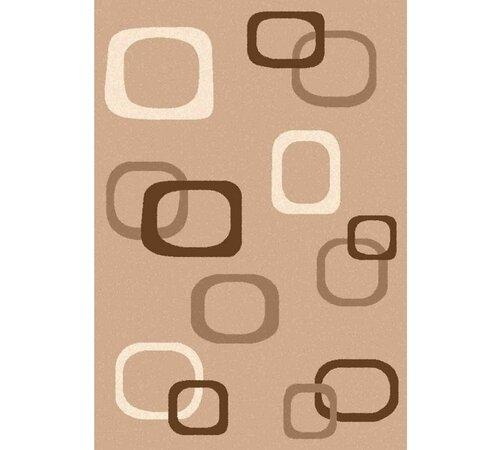 Kusový koberec Čtverce, 80 x 150 cm