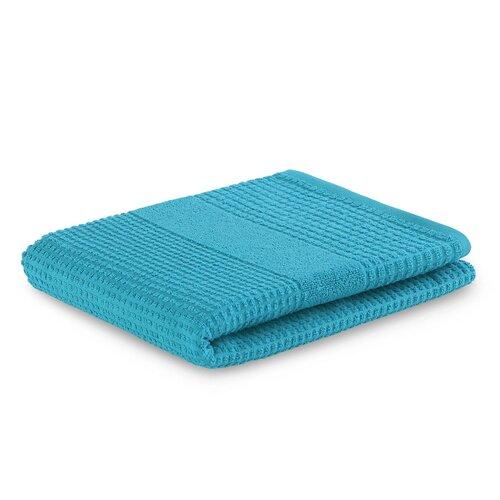 AmeliaHome Ręcznik Plano turkusowy, 50 x 90 cm