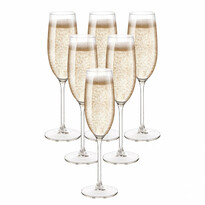 Royal Leerdam 6-dielna sada pohárov na šampanské, 200 ml