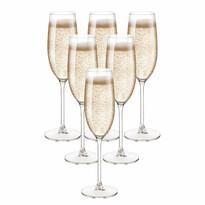 Royal Leerdam pezsgőspohár készlet, 6 részes, 200 ml