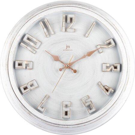 Lowell 00825B Dizajnové nástenné hodiny pr. 40 cm