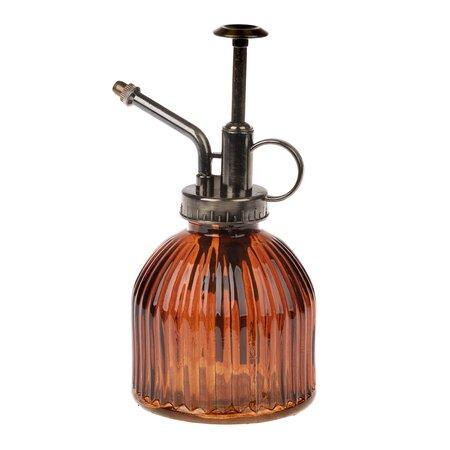 Pulverizator din sticlă, portocaliu, 9 x 16 x 8 cm