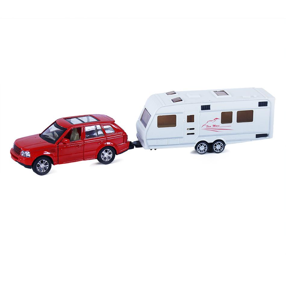 Rappa Kovové auto s prívesom, 2 druhy