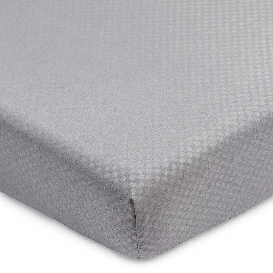 BO-MA Trading Prostěradlo Elisa mikrovlákno šedá, 90 x 200 cm
