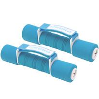 Sada činiek Dumbell modrá, 2 x 1,5 kg
