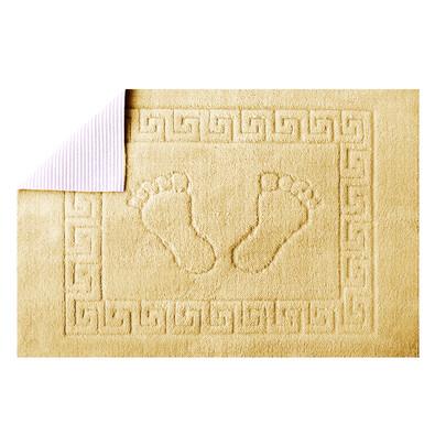Koupelnová předložka Barefoot latte, 50 x 70 cm