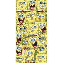 Sponge Bob Mit nézel törölköző, 70 x 140 cm