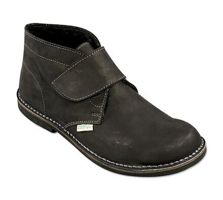 Orto Plus Pánská kotníčková obuv zateplená vel. 46 černá