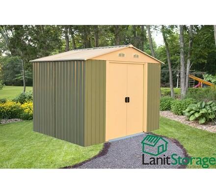 Zahradní domek na nářadí LanitStorage 8x10 (8,02 m na nářadí