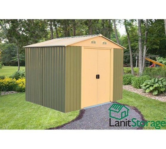 Záhradný domček na náradie LanitStorage 8x10 (8,02 m2)