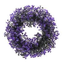 Umelý veniec Buxus, fialová