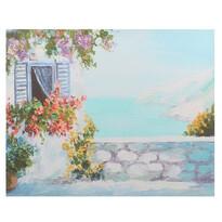 Obraz na plátne Sea house, 56 x 46 x 2 cm
