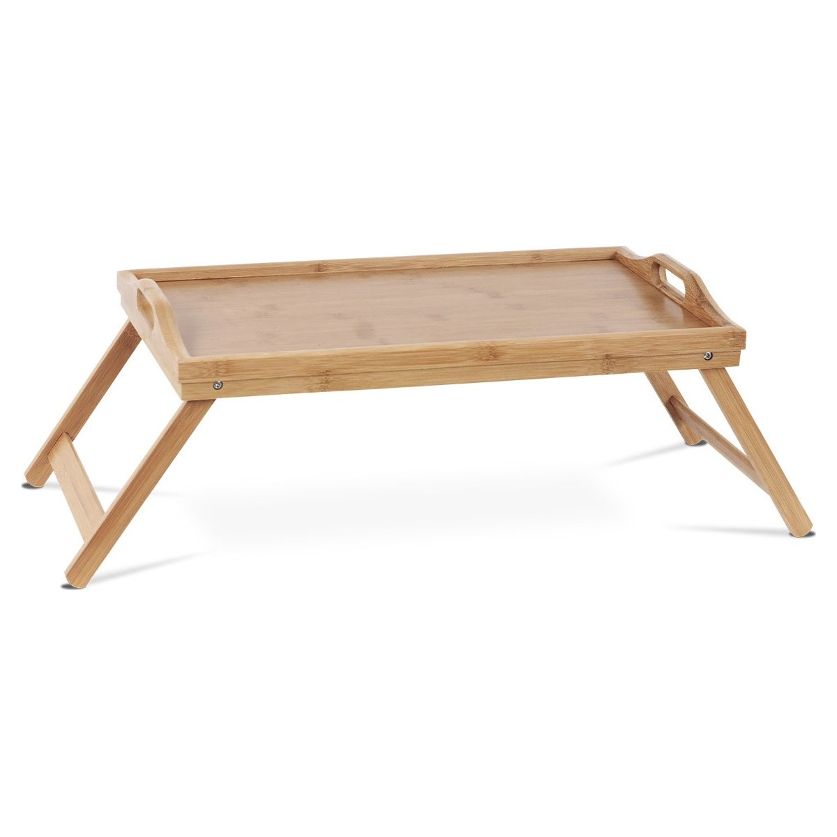 Bambusový podnos do postele, 50 x 30 x 22 cm