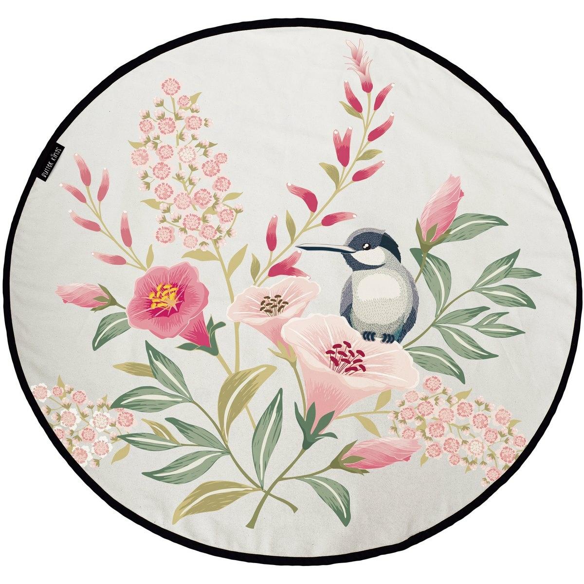 Butter Kings Bavlnený herný koberec Hummingbird, 130 cm