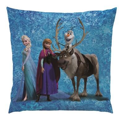 Vankúšik Ľadové kráľovstvo Frozen Team, 40 x 40 cm