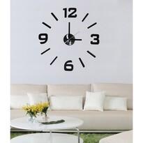 StarDeco Nástenné hodiny čierna, pr. 50 cm