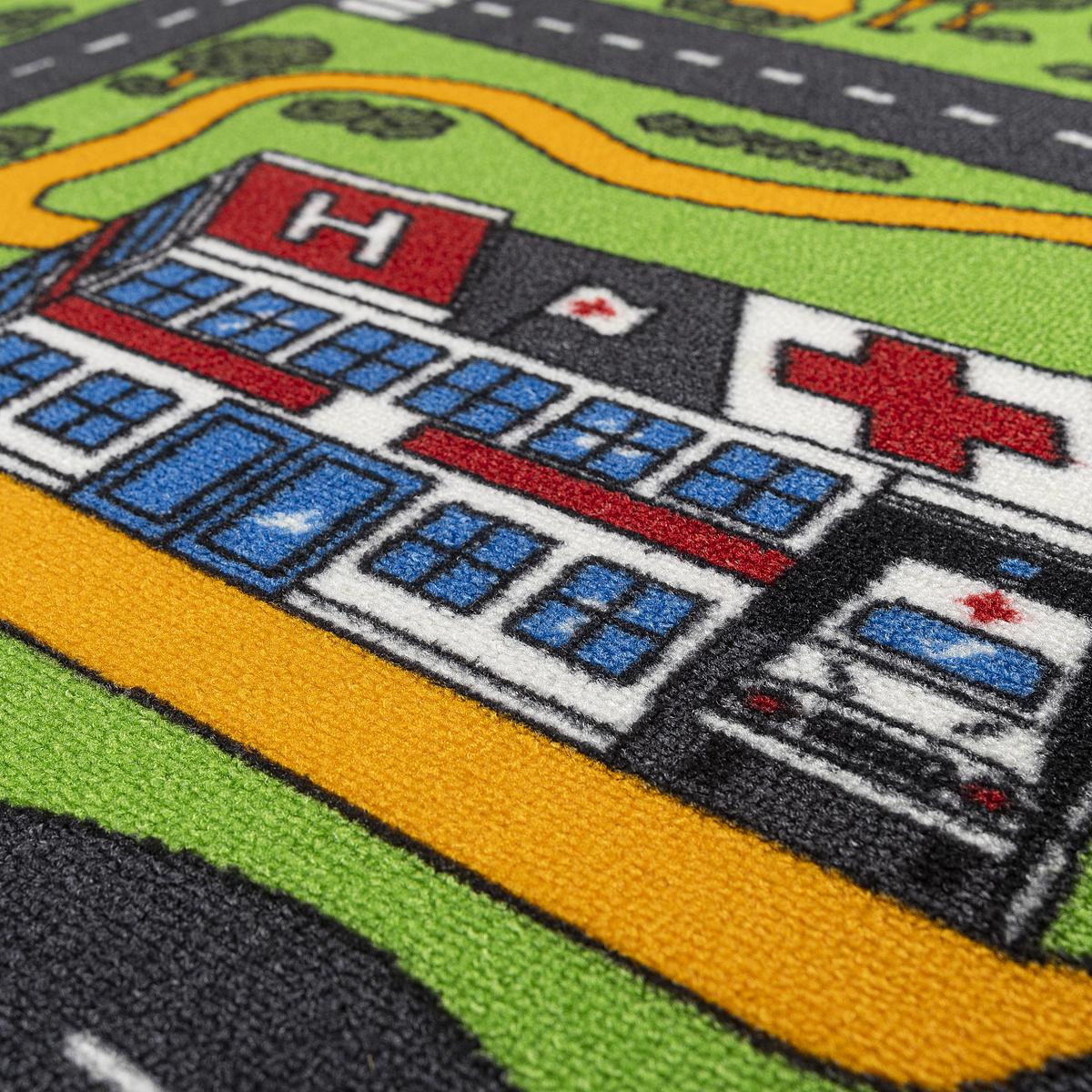 Produktové foto Vopi Dětský koberec City life, 133 x 165 cm
