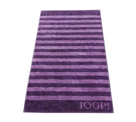 JOOP! ručník Stripes fialový, 50 x 100 cm