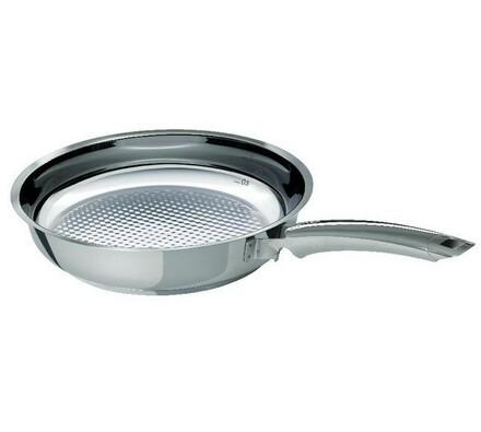 Pánev Crispy Steelux Premium, 24 cm, Fissler