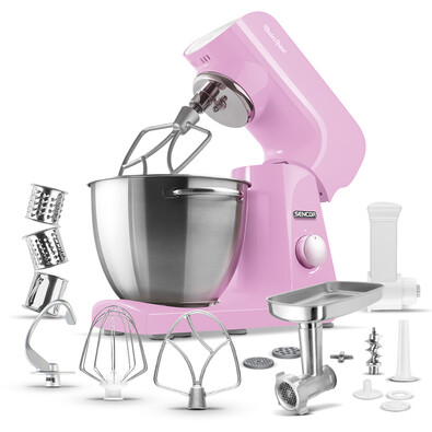 Sencor STM 48RS kuchyňský robot, růžová