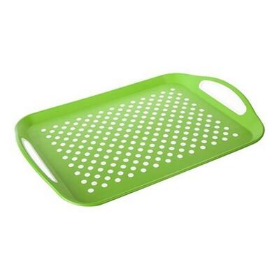 Banquet tác zelený puntík