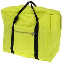 Koopman Skládací cestovní taška zelená, 44 x 37 x 20 cm