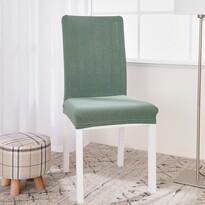 4Home Napínací voděodolný potah na židli Magic clean zelená, 45 - 50 cm, sada 2 ks