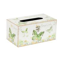 Box na vreckovky Farfalla, 25 cm