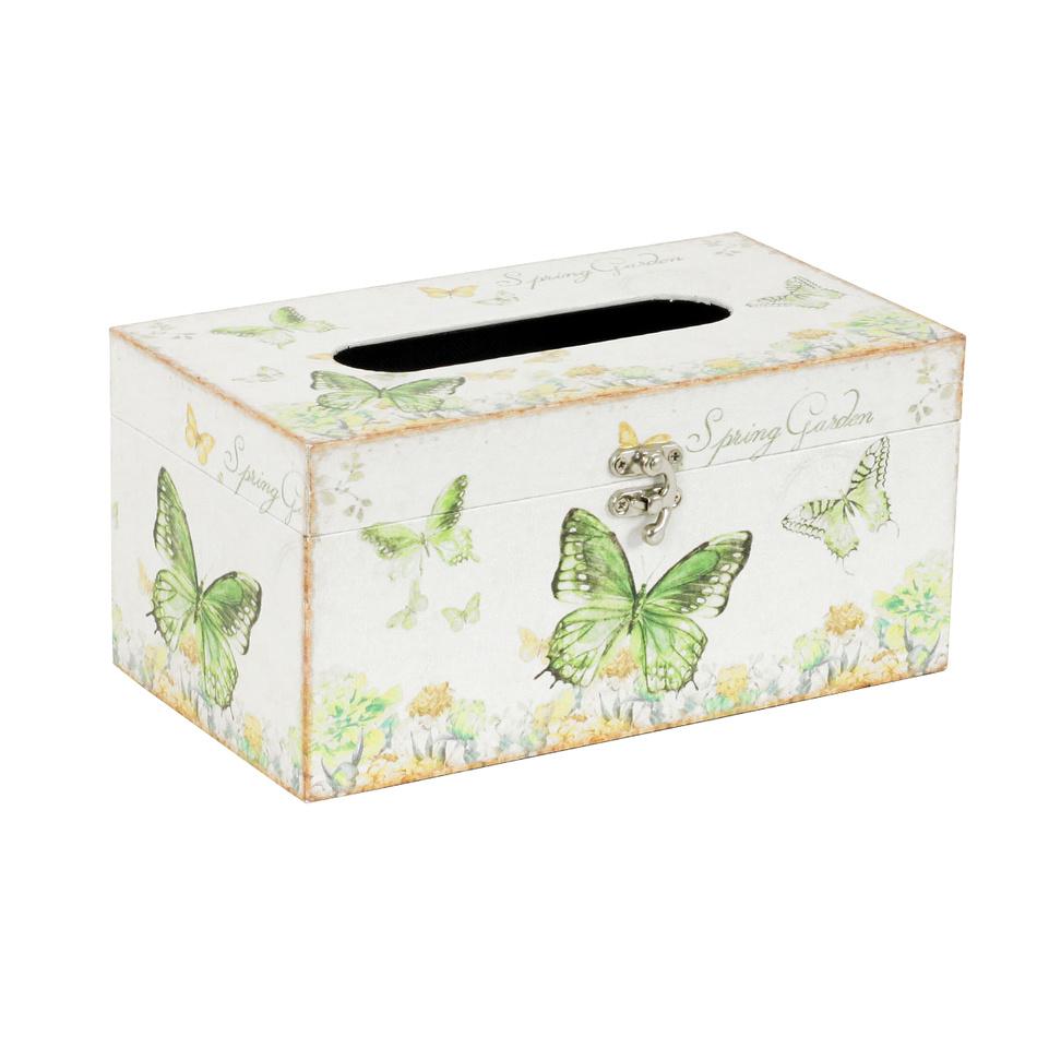 Box na kapesníky Farfalla, 25 cm