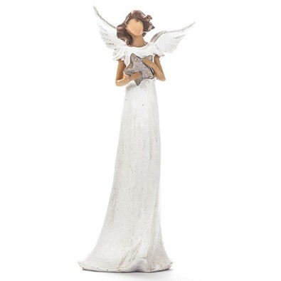 Anděl s hvězdičkou 25 cm