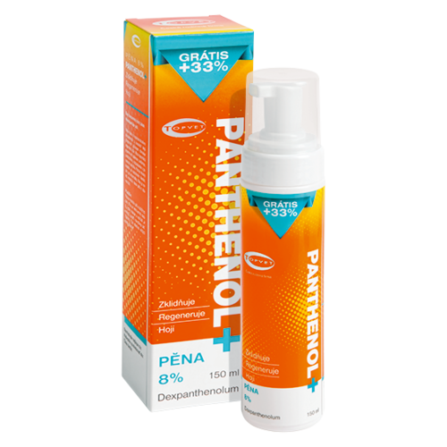 Topvet Panthenol pěna 8  percent, 150 ml