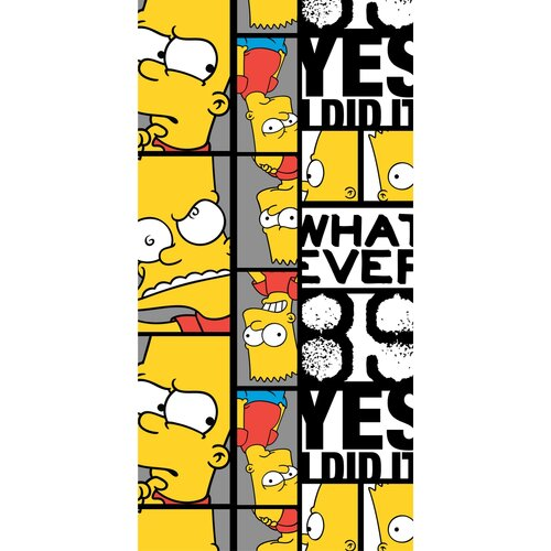 Jerry Fabrics Bart 89 törölköző, 70 x 140 cm