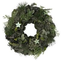 Altom Vánoční věnec Luxury 24 cm, zelená