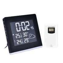 Solight TE86 Meteostanice s LCD displejem, černá
