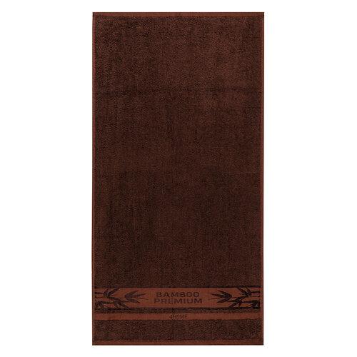 Prosop 4Home Bamboo Premium maroînchis, 50 x 100 cm