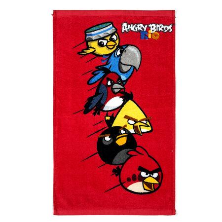 Dětský ručník Angry Birds Red, 30 x 50 cm