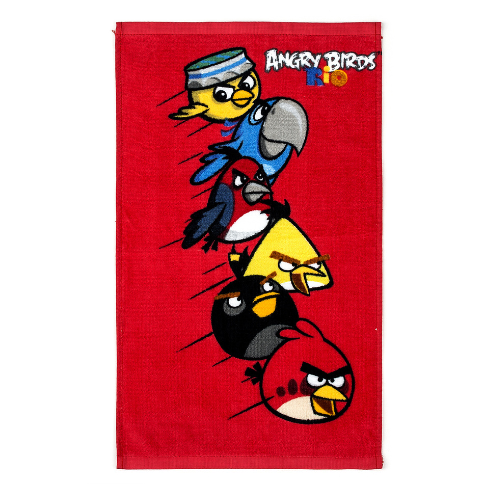 Tip Trade Detský uterák Angry Birds Red, 30 x 50 cm