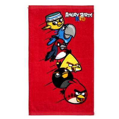 Detský uterák Angry Birds Red, 30 x 50 cm