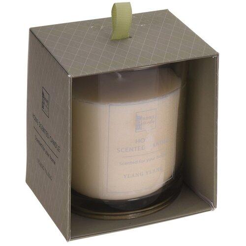 Sviečka v skle Home scented Ylang ylang, 9 x 10 cm