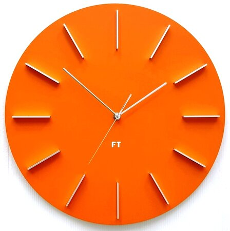 Future Time FT2010OR Round orange Design falióra, átmérő 40 cm
