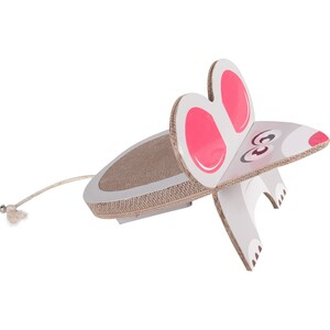 Karlie-Flamingo Škrabadlo pro kočky Myš, 45 x 29 x 29 cm