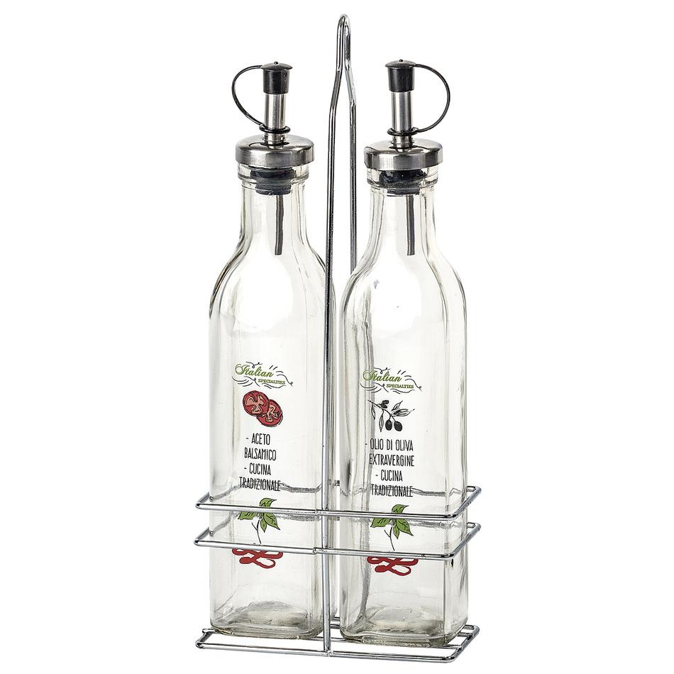 Florina 2dílná sada nádob na ocet a olej