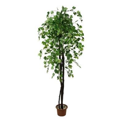 Umělý strom zelený, 150 cm