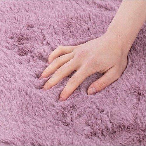 AmeliaHome Lovika szőrme, rózsaszín, 120 cm