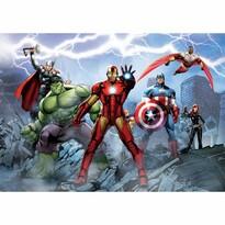 Fototapeta dziecięca XXL Avengers 360 x 270 cm, 4 części