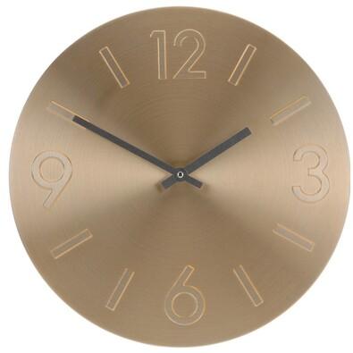 Nástenné hodiny Atlanta zlatá, 35 cm