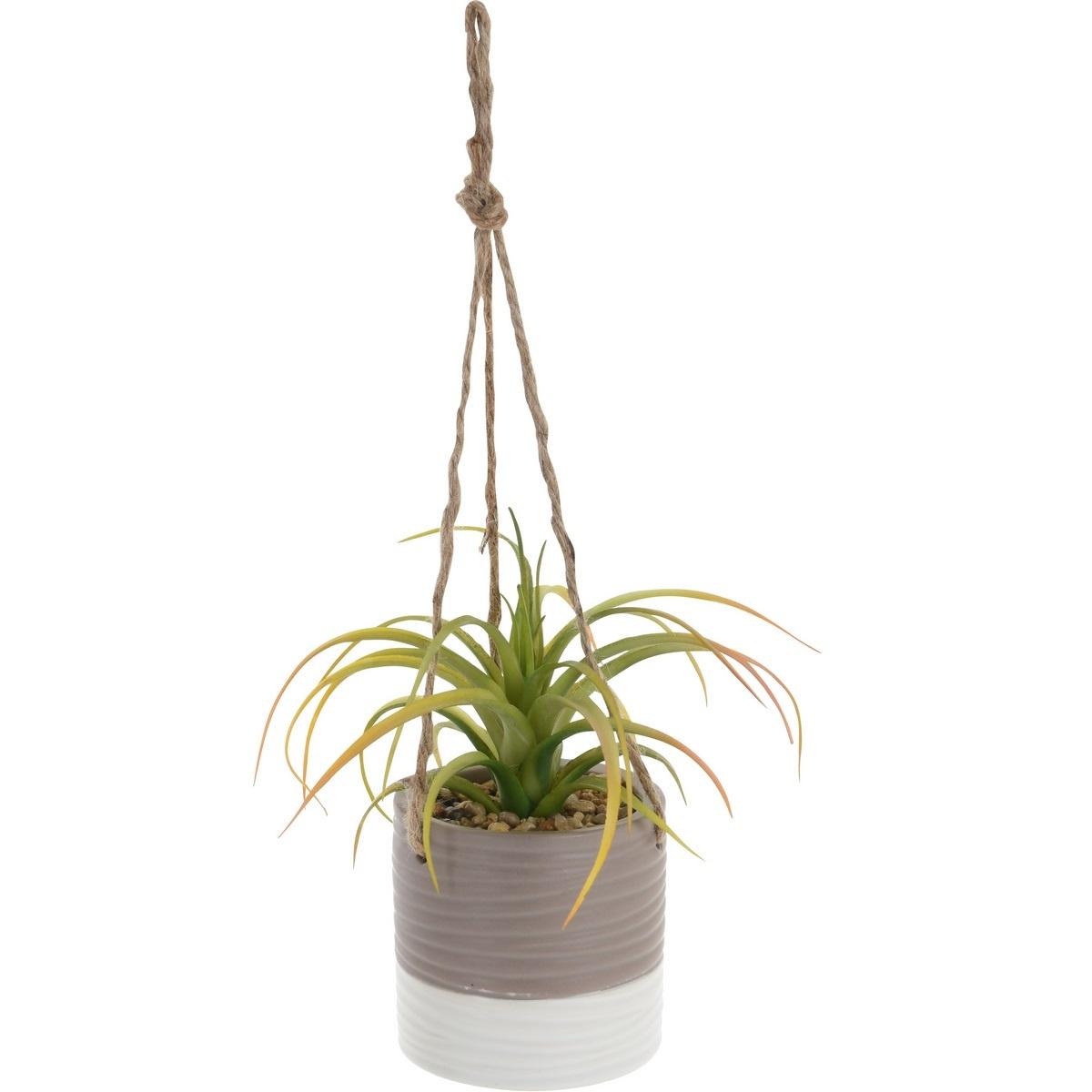 Koopman Umělá rostlina v závěsném květináči Tilda, 15 cm