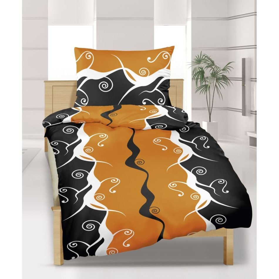 Bellatex Saténové obliečky Fantázia, 140 x 200 cm, 70 x 90 cm