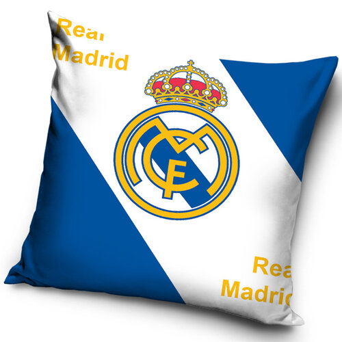 Tip Trade Vankúšik Real Madrid, 40 x 40 cm,